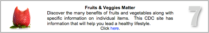 Visit Fruits & Veggies Matter page